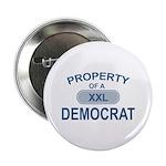 XXL Democrat Button