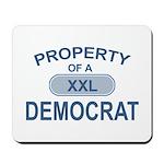 XXL Democrat Mousepad