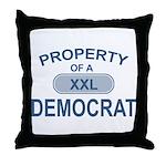 XXL Democrat Throw Pillow