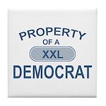XXL Democrat Tile Coaster