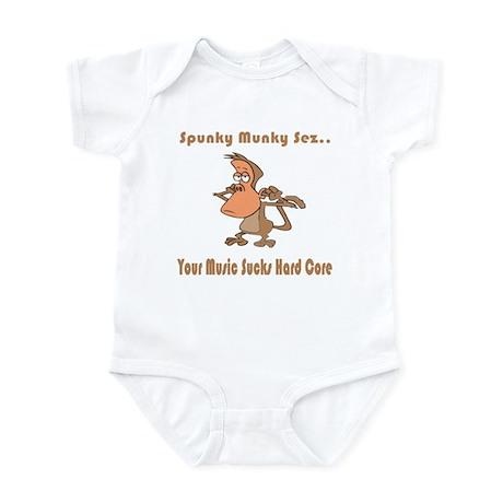 Your Music Sucks Hard Core Infant Bodysuit
