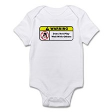 Does Not Play Well With Others Infant Bodysuit