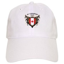 Number One Canadian Dad Baseball Cap