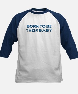 Born To Be Their Baby Kids Baseball Jersey