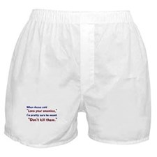 Don't Kill Them Boxer Shorts