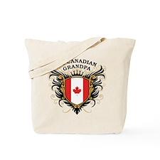 Number One Canadian Grandpa Tote Bag