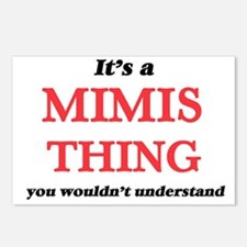 It's a Mimis thing, y Postcards (Package of 8)