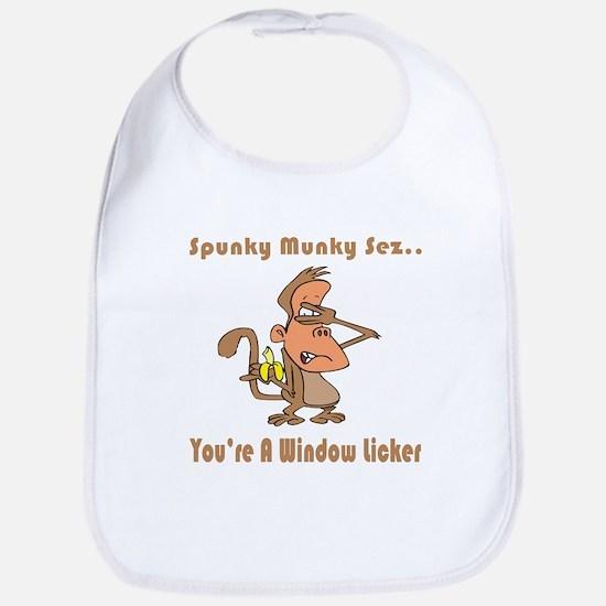 You're a Window Licker Bib