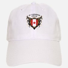 Number One Canadian Uncle Baseball Baseball Cap