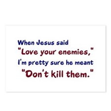 Don't Kill Them Postcards (Package of 8)