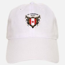 Number One Canadian Aunt Baseball Baseball Cap