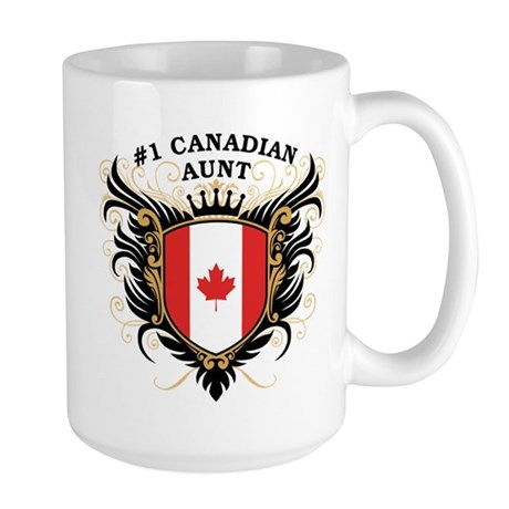 Number One Canadian Aunt Large Mug