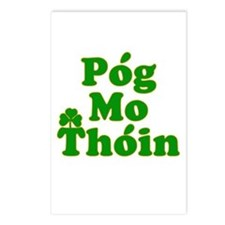 Pog Mo Thoin Kiss My Ass Postcards (Package of 8)