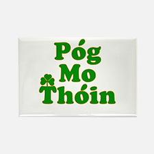 Pog Mo Thoin Kiss My Ass Rectangle Magnet