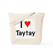I love TayTay Tote Bag