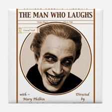 The Man Who Laughs Movie Tile Coaster