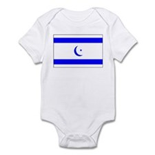 Islamic Israeli Flag Infant Creeper