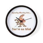 You're an Idiot Wall Clock