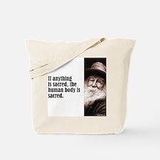 """Whitman """"Sacred"""" Tote Bag"""