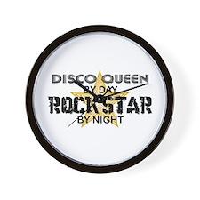 Disco Queen RockStar Wall Clock