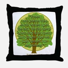 Tree Wisdom Throw Pillow