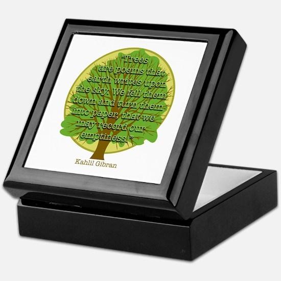 Tree Wisdom Keepsake Box