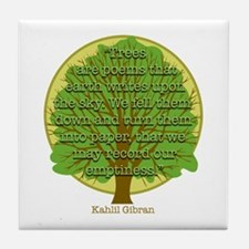Tree Wisdom Tile Coaster