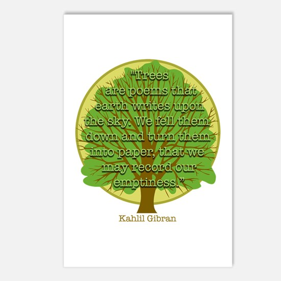 Tree Wisdom Postcards (Package of 8)