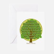 Tree Wisdom Greeting Card