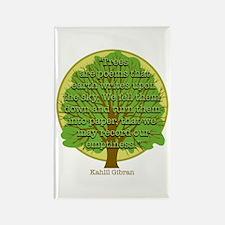 Tree Wisdom Rectangle Magnet