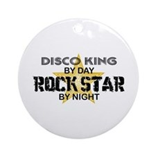 Disco King RockStar by Night Ornament (Round)