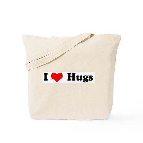 I Love Hugs Tote Bag