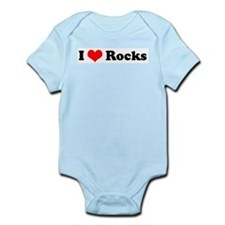 I Love Rocks Infant Creeper