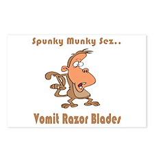 Vomit Razor Blades Postcards (Package of 8)