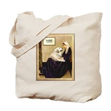 Whistlers Mom & Great Pyrenees Tote Bag