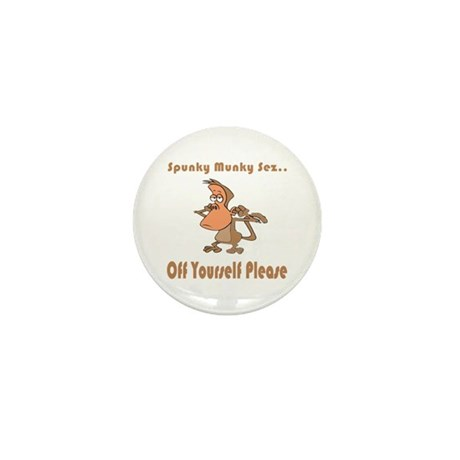 Off Yourself Please Mini Button (10 pack)