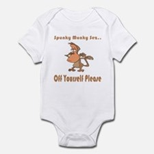 Off Yourself Please Infant Bodysuit