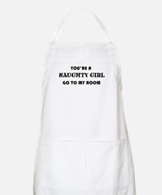 You're A Naughty Girl BBQ Apron