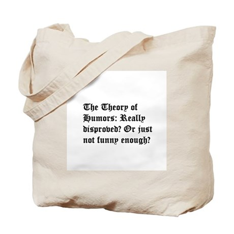 Theory of Humors Tote Bag