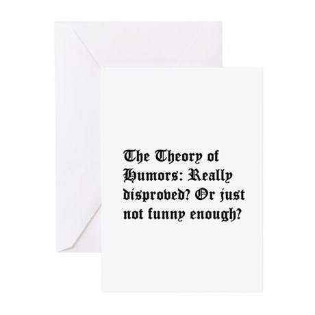 Theory of Humors Greeting Cards (Pk of 10)