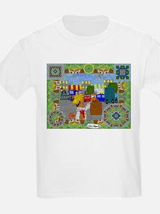 A Jibaro In New York City Kids White T-Shirt