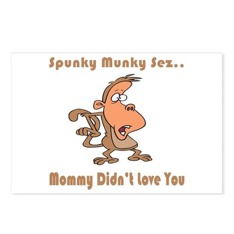 Mommy Didn't Love You Postcards (Package of 8)