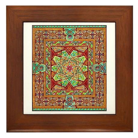 Carpet Page Framed Tile