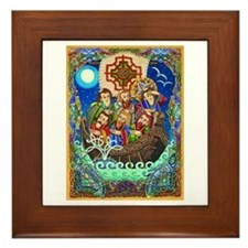 St. Brendan Framed Tile