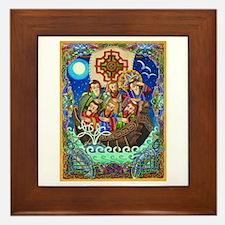 St. Brendan Framed Tile