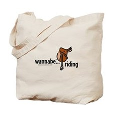wannabe...riding Tote Bag