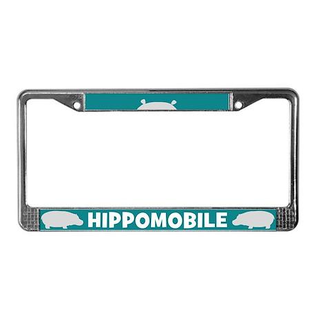 HIPPOMOBILE License Plate Frame