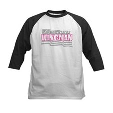 Daddy's little wingman (pink) Tee