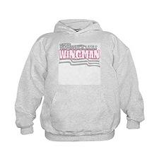 Daddy's little wingman (pink) Hoodie