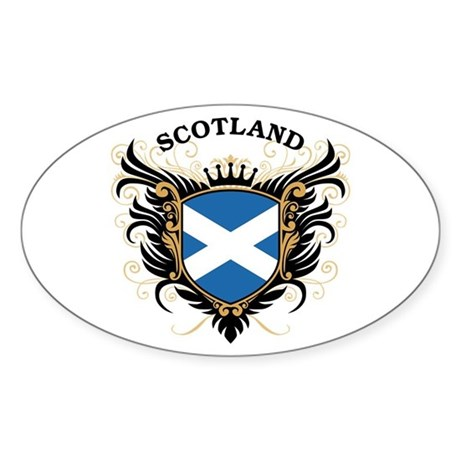 Scotland Sticker (Oval)